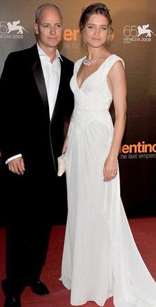 Наталья Водянова с супругом, лордом Джастином Портманом