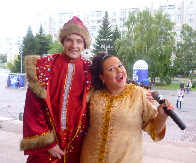 Боня и Кузьмич в Красноярске