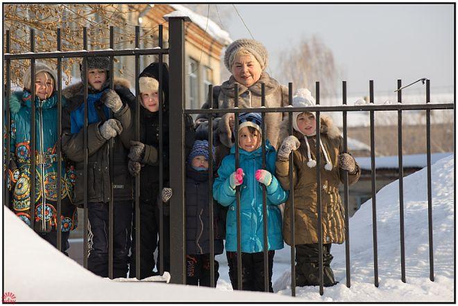 """Магнитогорск, благотворительность, БФ """"Социальная помощь"""", хаски, дети"""