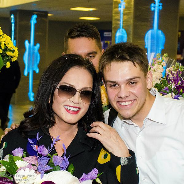 София Ротару: фото после концерта