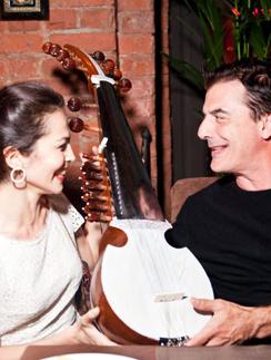 Сати Казанова и Крис Нот