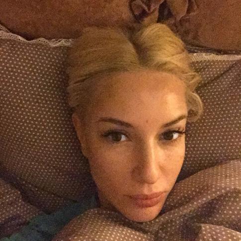 Лера Кудрявцева : фото без макияжа
