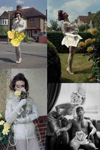 Глаз из розы, юбка из розы, прическа из розы… Для Стерлинг каждая девушка – настоящий цветок.