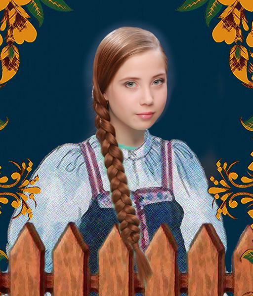 Татьяна Брусницына, «Уральская краса – русская коса», фото