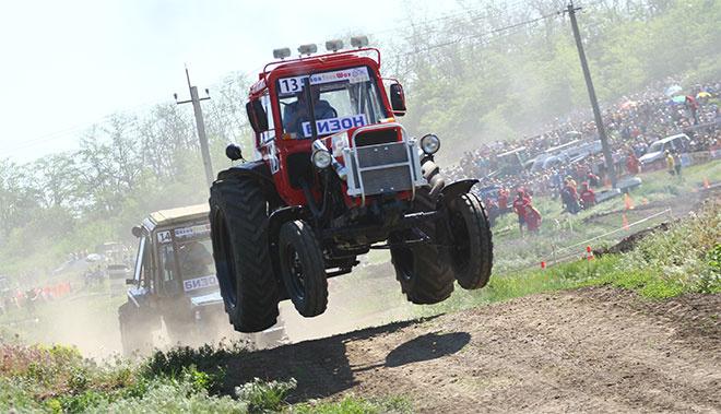 Гонки на тракторах, Бизон шоу, Бизон трек шоу, Бизон шоу 2015