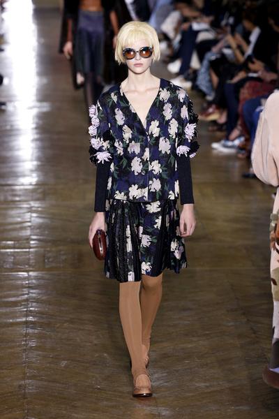 Показ Ulyana Sergeenko на Неделе Haute Couture в Париже | галерея [1] фото [1]
