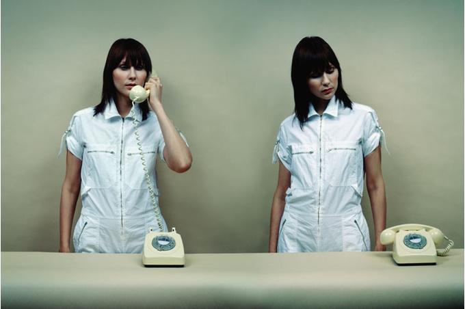 Женщины и телефоны
