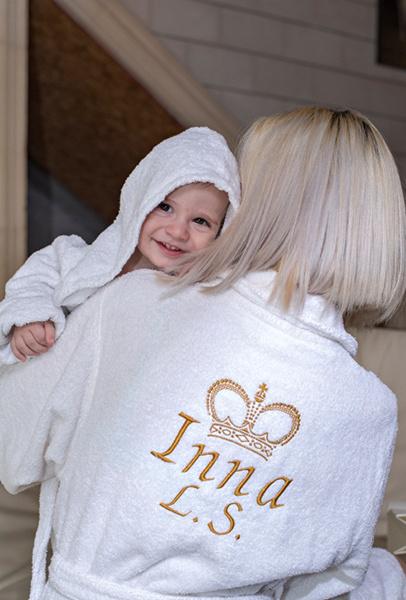 Культ любить: халаты детские, женские, мужские с индивидуальной вышивкой