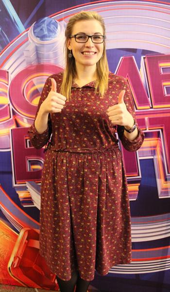 Анастасия Иванова, кастинг «Comedy Баттл», фото