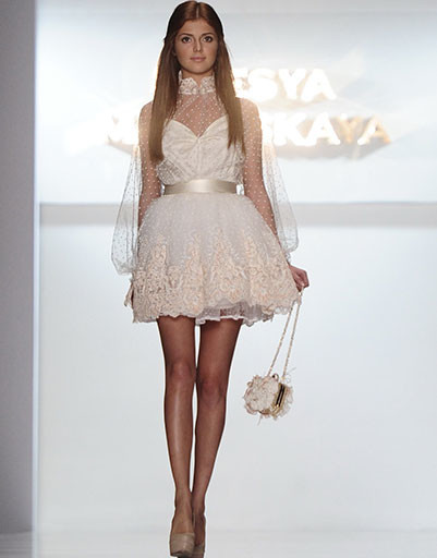 Mercedes-Benz Fashion Week Russia: Olesya Malinskaya, весна-лето 2014