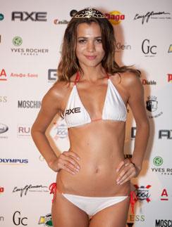 Победительница Miss Maxim 2011 Наталья Выросткова
