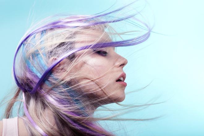 как покрасить волосы в фиолетовый