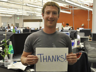 Марк Цукерберг (Mark Zuckerberg) предложил Бараку Обаме сменить имидж