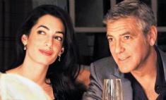 Клуни подарил невесте кольцо с бриллиантом в 7 карат