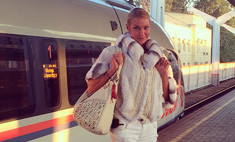 Анастасия Волочкова носит шубу летом