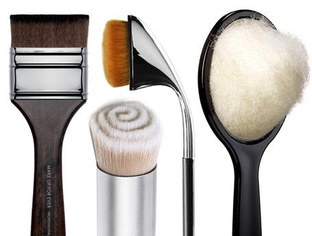 Необычные кисти для макияжа