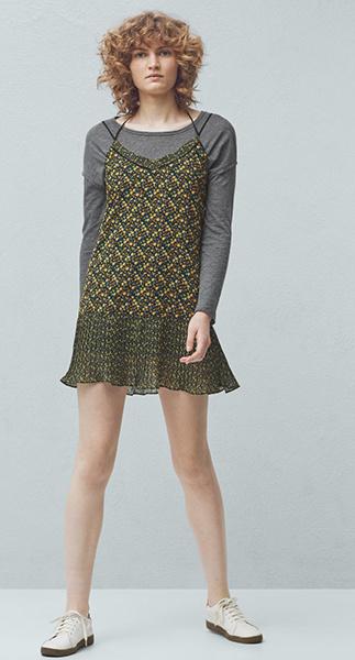 Платье, лонгслив Mango, фото