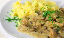 Индейка с грибами и сыром в мультиварке