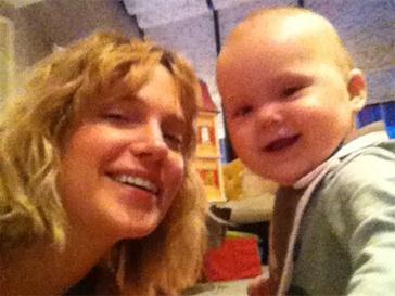 Наталья Ионова с младшей дочерью Верой.