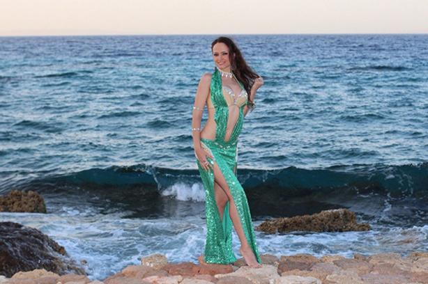Юлия Захарова самая обворожительная восточная танцовщица Самары