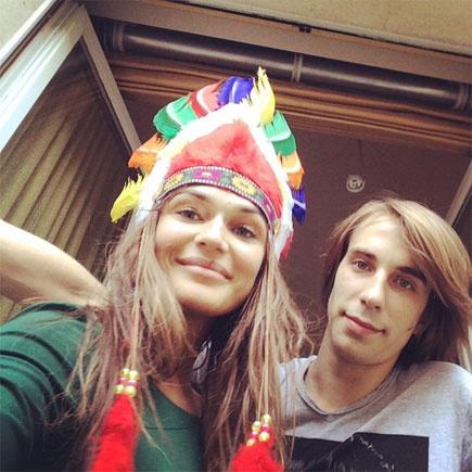 Алена Водонаева и Юрий Анде, инстаграм