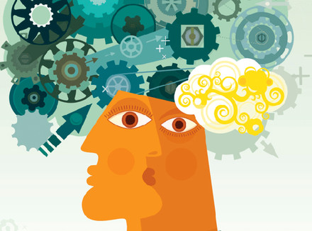 Изображение человека и его мозга