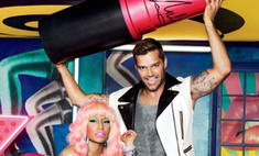 Рики Мартин и Ники Минай в рекламной кампании MAC