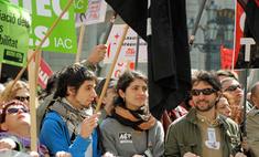 Французы протестуют против повышения пенсионного возраста