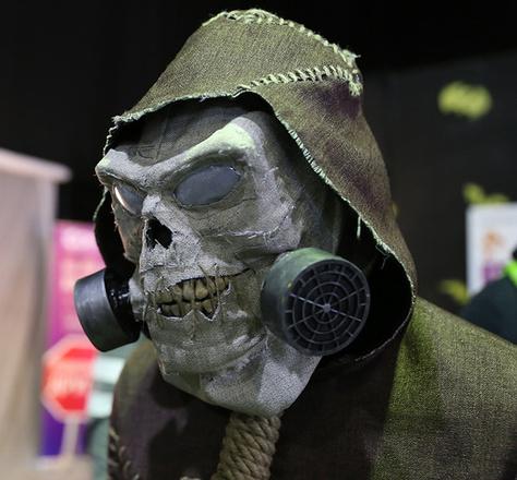Пугало, комикс-конвент «Готэм», фото
