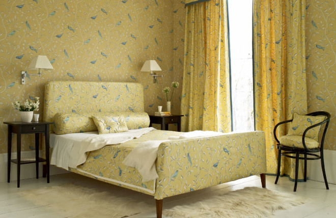 Ткань и обои из коллекции Options. Sanderson, салон The English House Rosbri.