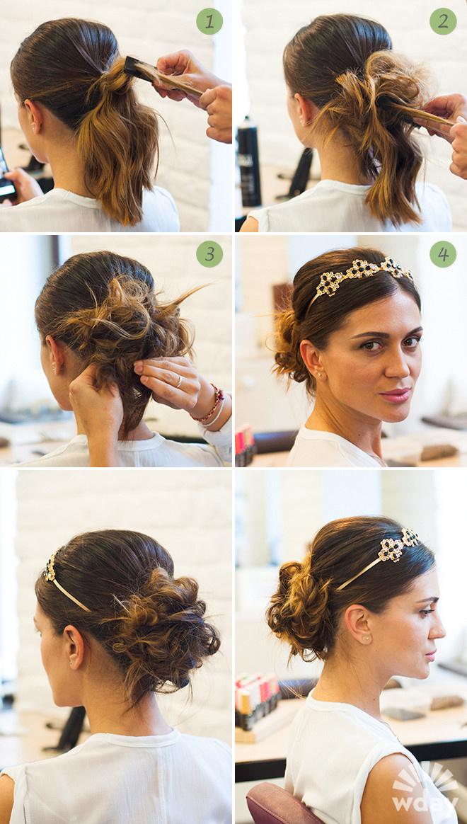 Красивые варианты причесок на волосы длиной до плеч с пошаговым описанием