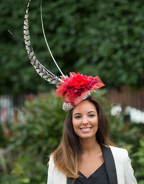 Королевские скачки в Аскоте: парад шляп   галерея [1] фото [14]