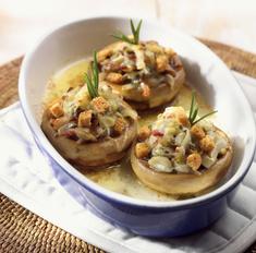 Вкусные грибы с майонезом в духовке