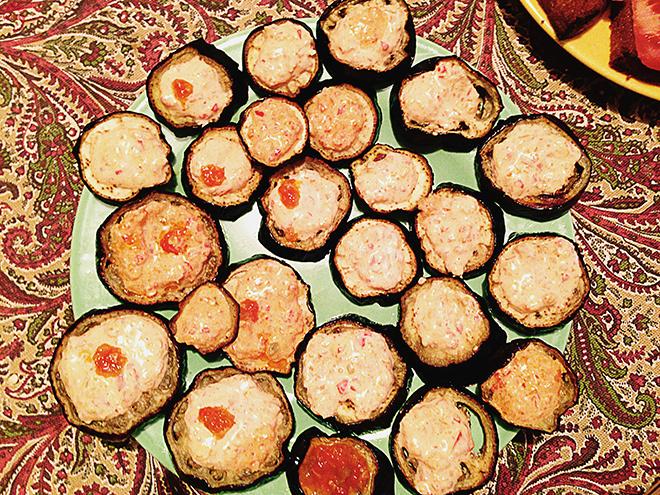 Блюдо осеннего стола