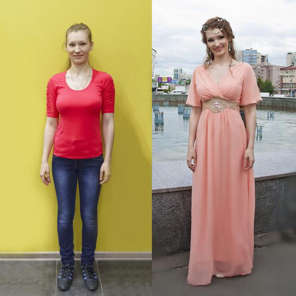 До и после: Екатерина Морозова
