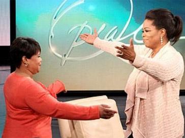 Опра Уинфри (Oprah Winfrey) встретилась с сестрой