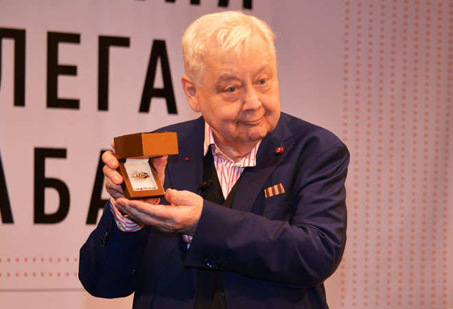 Олег Табаков: фото