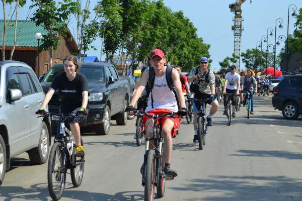 Во Владивостоке состоится массовый заезд велосипедистов