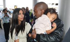 Ким Кардашьян окрестила дочь в Иерусалиме