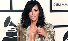 Ким Кардашьян оконфузилась на «Грэмми-2015»
