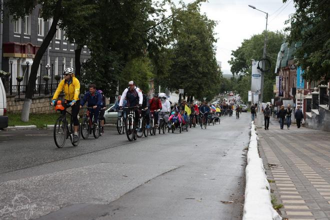 Велопарады становятся в Кирове все популярнее