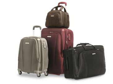 Новые чемоданы Samsonite на 21% легче моделей из предыдущих коллекций