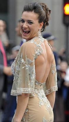Елена Исинбаева, платье