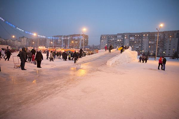 горка, Новокузнецк