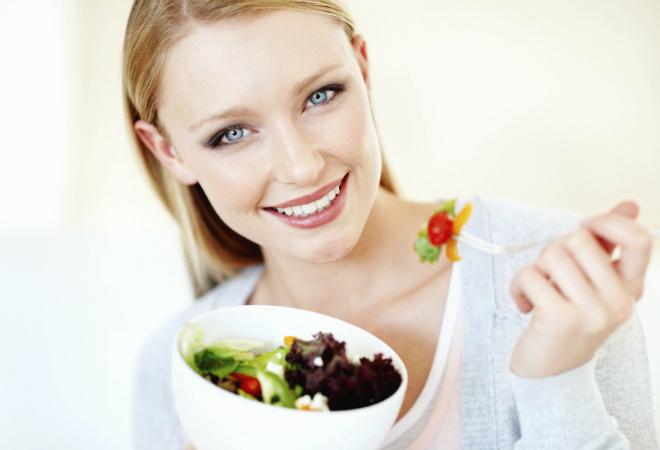 Диетический салат, фото