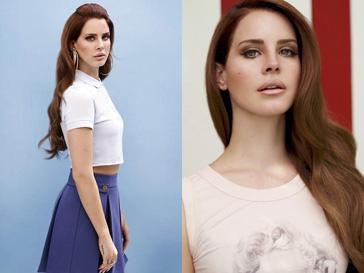 Лана Дель (Lana Del Rey) на первых снимках рекламной кампании Versace весна-лето 2013