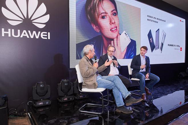 Сними меня, фотограф: звезды на презентации смартфонов Huawei