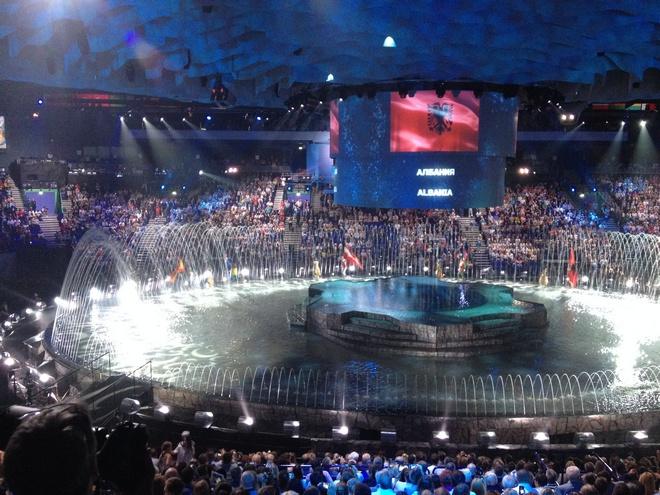 Церемония открытия ЧМ-2015, фото
