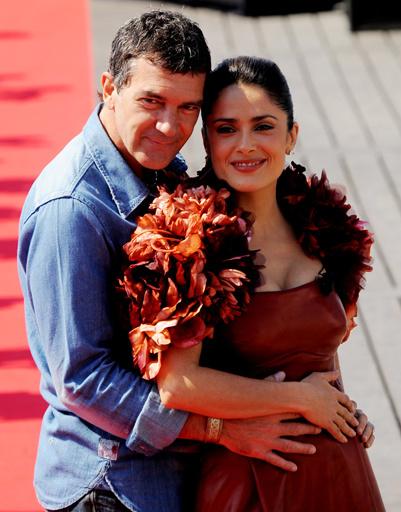 Сальма Хайек и Антонио Бандерас