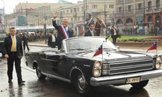 необычные автомобили которых передвигаются главы государств